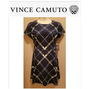 Vince Camuto Plaid Dress
